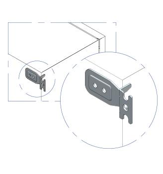 staffe - accessori casse stagne