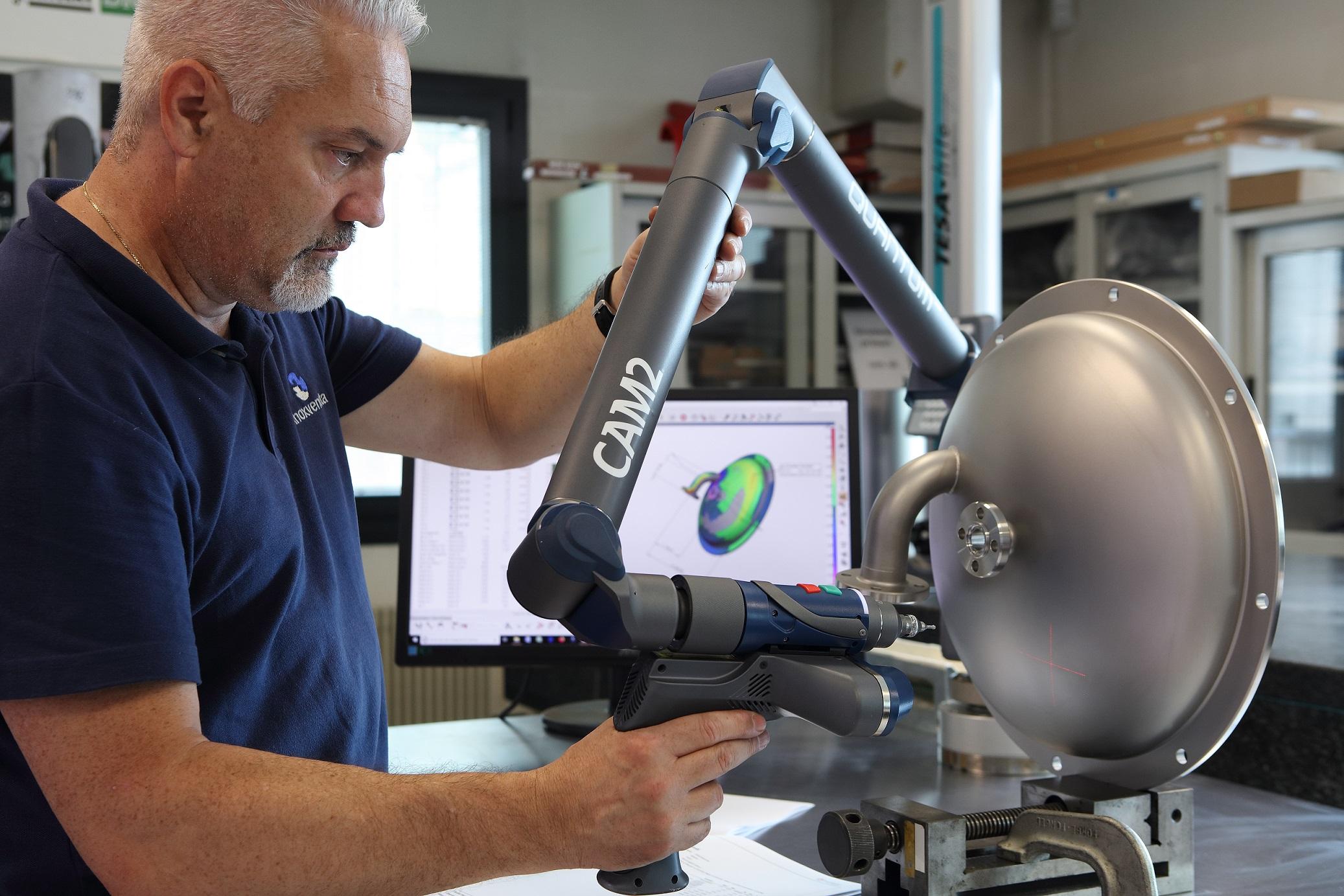 New 3D FARO laser scanning arm