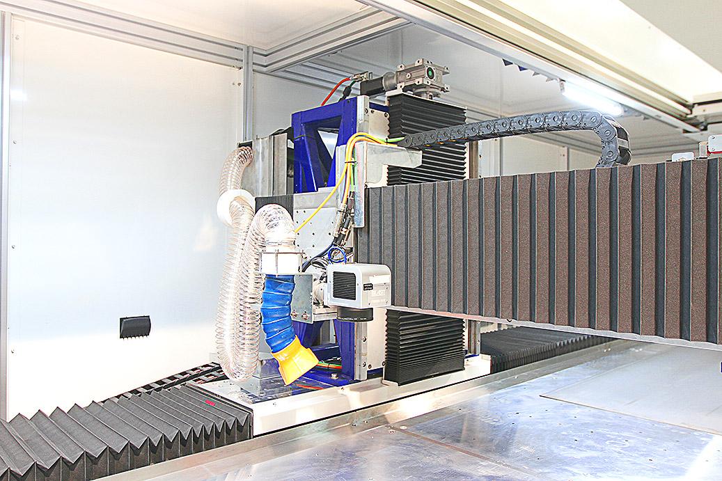 Eine neue Lasermarkierungsmaschine